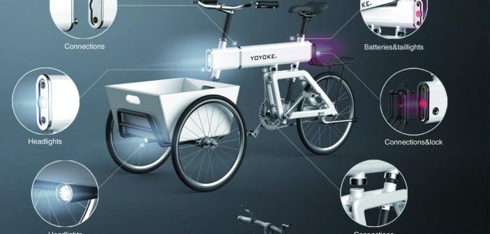 可迭代模块化自行车  YOYOKE